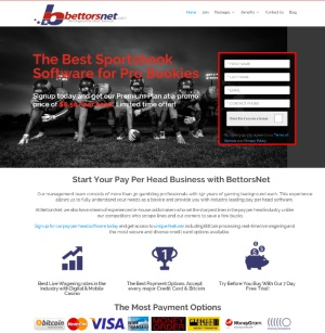 BettorsNet.com Sportsbook Pay Per Head
