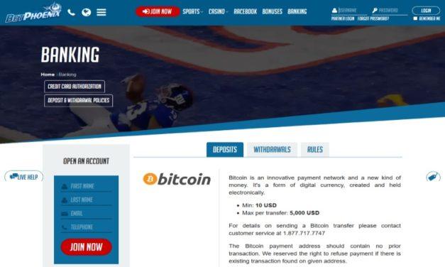 BetPhoenix.ag has a New Online Cashier