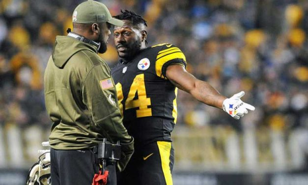 Antonio Brown Unhappy with the Steelers