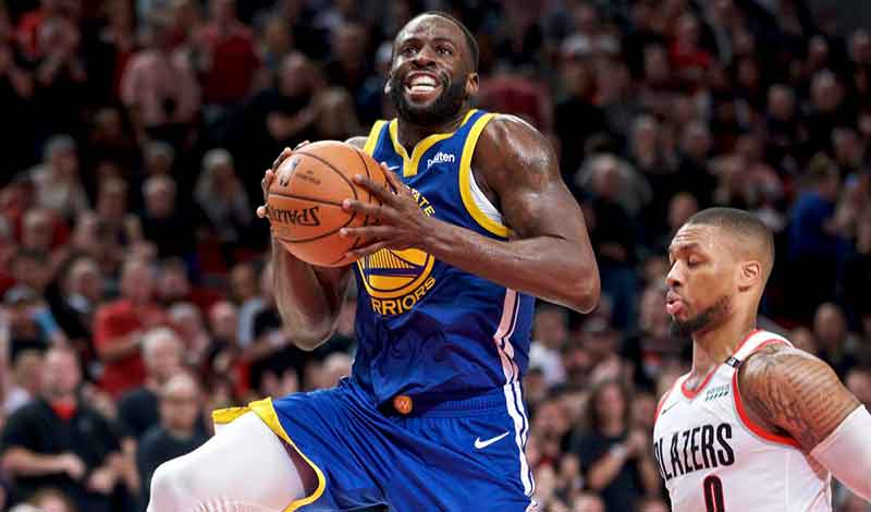 Warriors Still Sports Betting Favorites to Take Series against Blazers