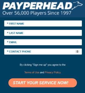 The PayPerHead Registration Process