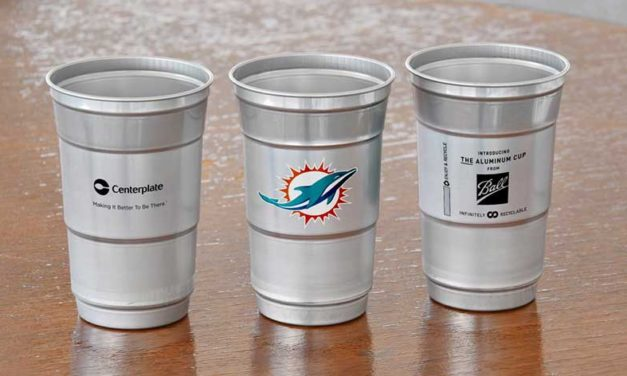 Hard Rock Stadium Replaces Plastic Cups with Aluminum for Super Bowl