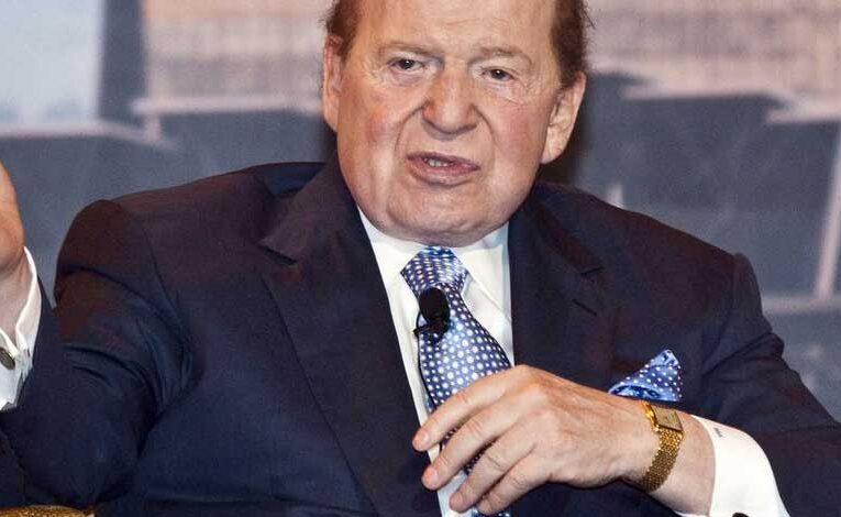 Sheldon Adelson Supports Online Casino in Texas