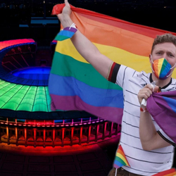 UEFA Faced Criticisms Over Rainbow Colors