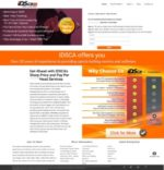 IDSCA website Screenshot