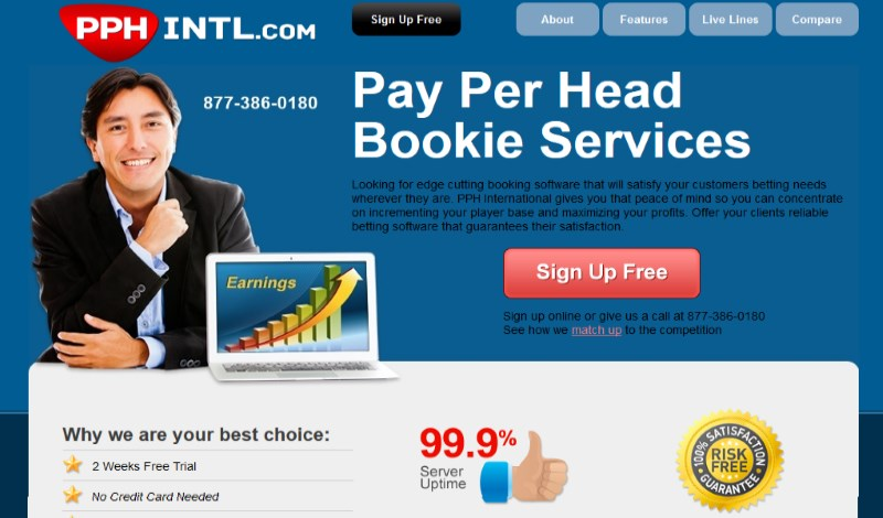 PPHintl.com Sportsbook Pay Per Head Review