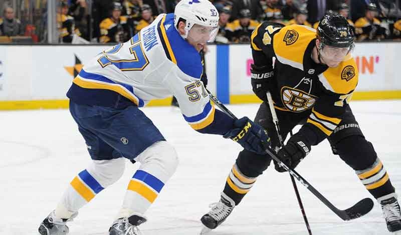 Bookie Ready for Bruins vs Blues in Stanley Cup Finals