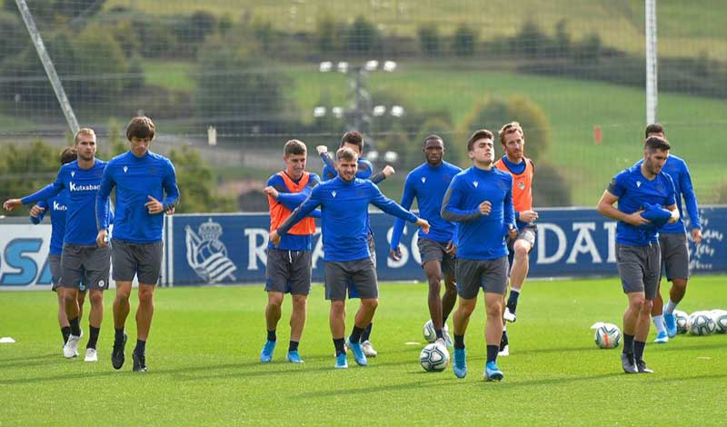 Real Sociedad Returns to Training