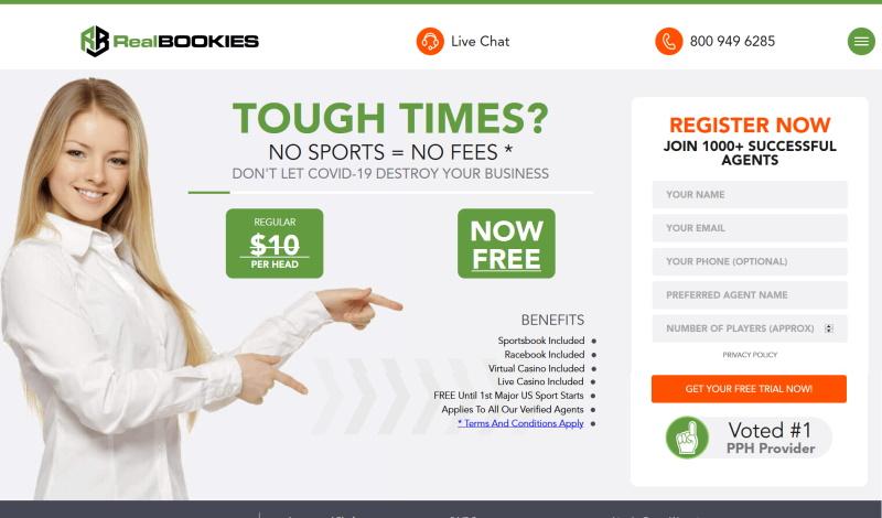 RealBookies.com Sportsbook Pay Per Head Review