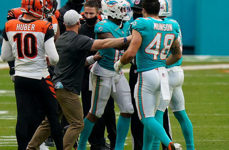 Bengals and Dolphins Brawl – The Aftermath